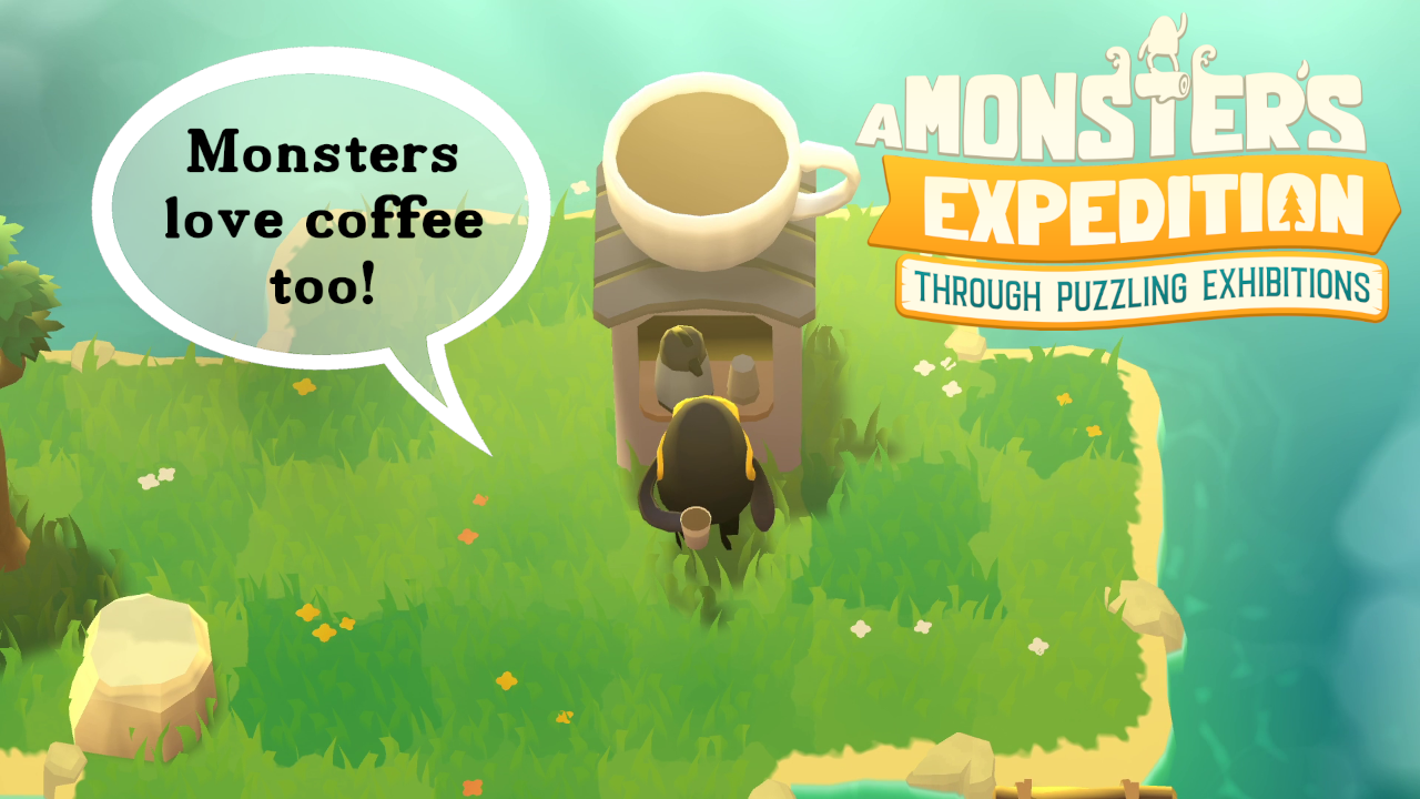A Monster S Expedition Gameplay Preview Relaxing Puzzle Game Ducky Obrien
